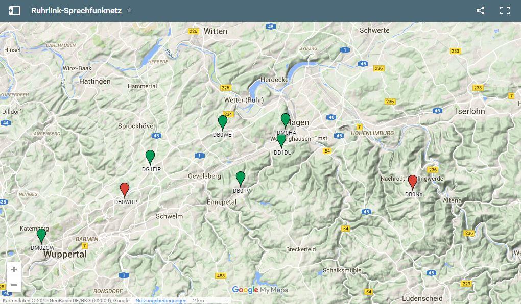 RuhrLink Standorte